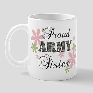 Army Sister [fl camo] Mug